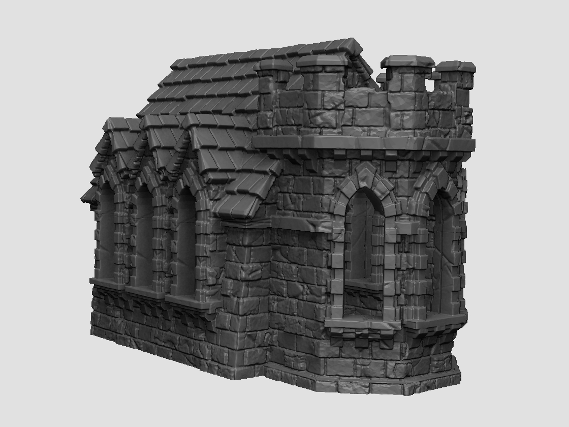Dark Realms Forge Chapel